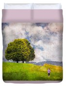 Childhood Dreams Duvet Cover