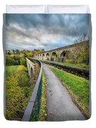 Chirk Aqueduct Duvet Cover