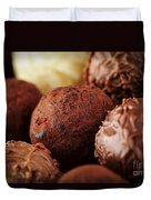 Chocolate Truffles Duvet Cover