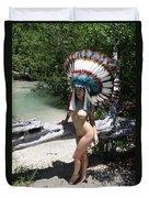 Chokoskee Island Fl. Indian 044 Duvet Cover