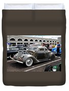 Chopped Ford Coupe Duvet Cover by Steve McKinzie