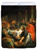 Christ Washing The Apostles' Feet Duvet Cover