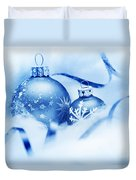 Christmas Balls Decoration Duvet Cover