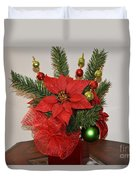 Christmas Centerpiece Duvet Cover