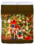 Christmas Figures Duvet Cover