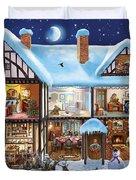 Christmas House Duvet Cover