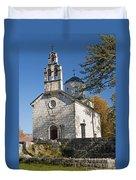 Church In Cetinje Montenegro Duvet Cover