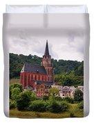 Church Of Our Lady  Oberwesel Am Rhein Duvet Cover