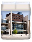 Cincinnati National Underground Railroad Freedom Center Duvet Cover