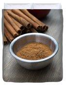 Cinnamon Spice Duvet Cover by Edward Fielding