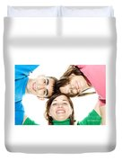Circle Of Best Friends Duvet Cover