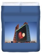 Citizens Bank Park - Philadelphia Phillies Duvet Cover