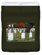Civil War Dead At Arlington Duvet Cover