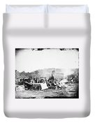Civil War: Wounded, 1862 Duvet Cover