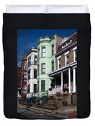 Classic American Architecture In Washington Dc Duvet Cover