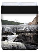Clayton Lake Spillway Duvet Cover