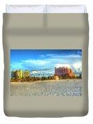 Clearwater Beach Duvet Cover