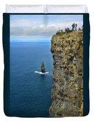 Cliffs Of Moher Duvet Cover