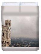 Clock Tower Duvet Cover