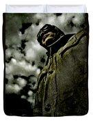 Cloudy Captain Duvet Cover