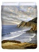 Coastal Beauty Impasto Duvet Cover