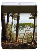 Coastal Rainforest Havelock Isl India Duvet Cover