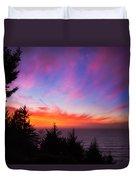 Coastal Skies Duvet Cover