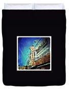 Coney Island Grub Duvet Cover