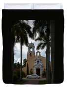 Congregational Church Of Coral Gables Duvet Cover