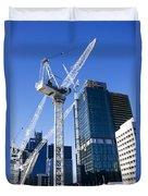 Construction City Duvet Cover
