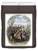 Continental Army Band Duvet Cover