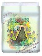 1 Corinthians 11 15 Duvet Cover