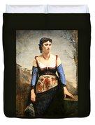 Corot's Agostino Duvet Cover