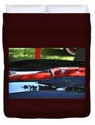 Corvette Torch Duvet Cover