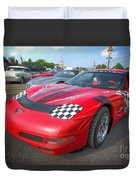 Corvette Z06 Duvet Cover
