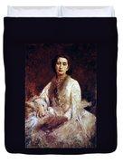 Cosima Wagner (1837-1930) Duvet Cover