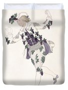 Costume Design For The Pageboy Duvet Cover