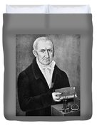 Count Alessandro Volta (1745-1827) Duvet Cover