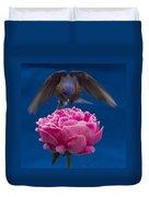 Count Bluebird Duvet Cover by Jean Noren