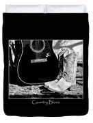 Country Blues Duvet Cover