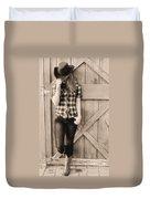 Country Girl Duvet Cover