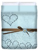 Country Hearts Duvet Cover