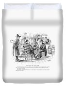 Country Store, 1894 Duvet Cover