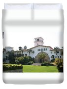 Courthouse Santa Barbara Duvet Cover