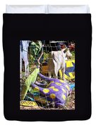 Cow Tipping Duvet Cover