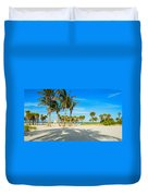 Crandon Park Beach Duvet Cover