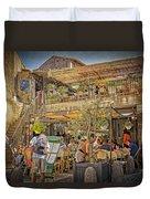 Creperie Restaurant Carcassonne Dsc01697 Duvet Cover