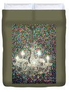 Crystal Chandelier Duvet Cover
