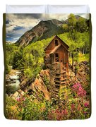 Crystal Mill Wildflowers Duvet Cover