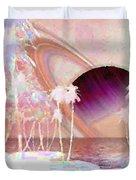 Crystal Sunset Duvet Cover